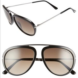 Tom Ford Stacy aviator sunglasses
